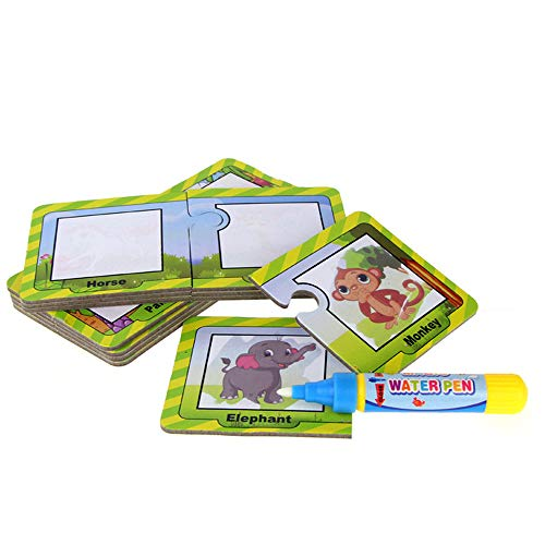 Flurries Animal Water Painting Board Painted The Coloured Dr