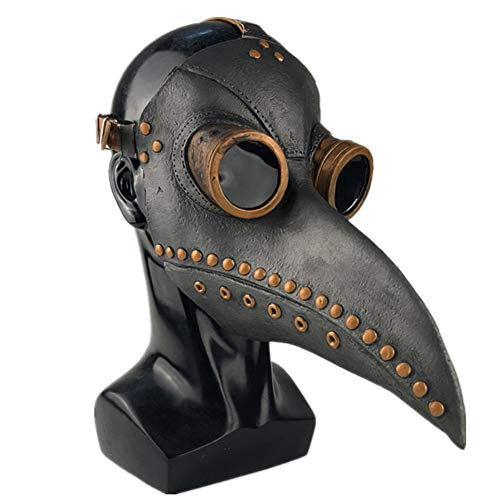 GPAN Plague Doctor Mask Halloween mask Birds Long