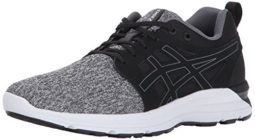 ASICS Womens Torrance Running Shoe, Mid Grey/Black/Carbon, 8 Medium US