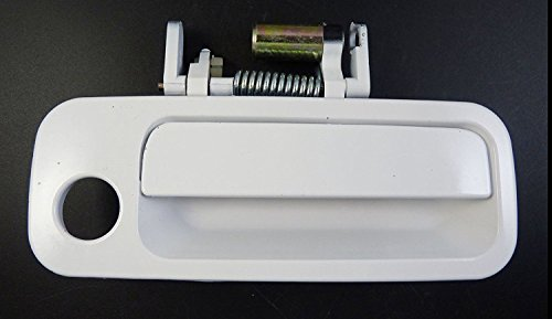Eynpire 8068 69210AA010C0 97-01 Toyota Camry White 040 Replacement Front Right Passenger Side Exterior Outside Outer Door Handle 97 98 99 00 01 ()
