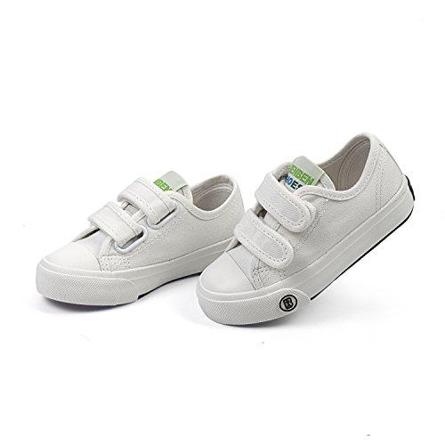 Sakuracan Fashion Sneaker for Boys Girls Canvas Velcro Running Sport Shoes (Toddler/Little Kid) by Sakuracan (Image #3)