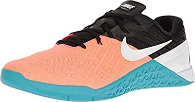 Nike Metcon 3 Hyper Orange/White/Black/Chlorine Blue Men's Cross Training Shoes