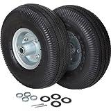 Ironton Hand Truck Flat-Free Tire Kit - 12-Pcs., 300-Lb. Capacity