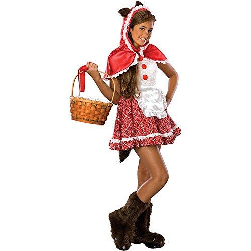 Teen Tween Red Riding Hood Costume