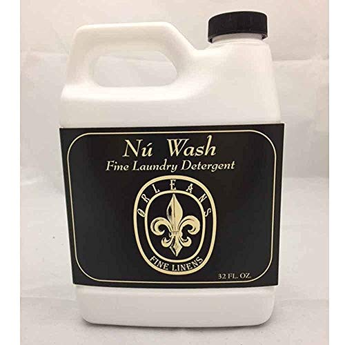 Orleans Home Fragrances Nu Wash Fine Laundry Detergent - Fine Linens - 32 Fl oz - Fine Linen Wash