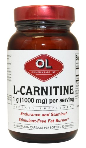 Olympian Labs L-Carnitine Fumerate, 500mg, 60 capsules