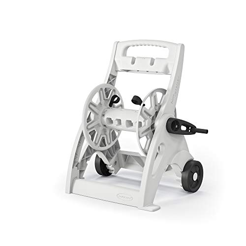 Suncast Commercial Pool Hose Reel White, Standard