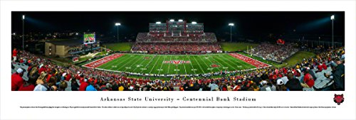 Arkansas State University Football (Arkansas State Football - Blakeway Panoramas Unframed College Sports Posters)