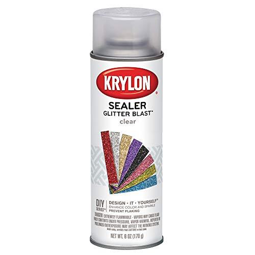 Krylon K03800000 Glitter Blast, Clear Sealer, 6 Ounce]()