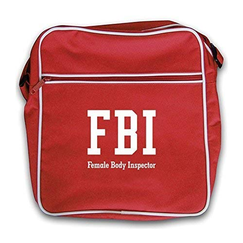 Bag Retro Female Fbi Flight Red Body Inspector Dressdown pYZxqqf