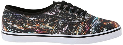 Vans Unisex Authentic (tm) Lo Pro Sneaker (Stadt) Schwarz / True White