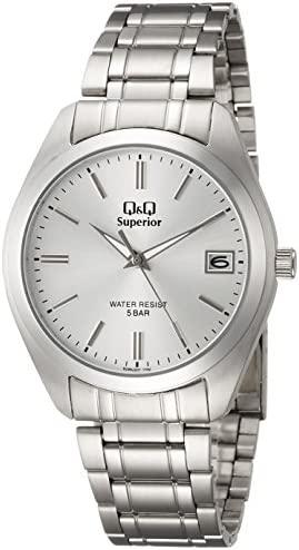 Q Q Men S Quartz Watch Analog Display And Stainless Steel Strap S286j201y Buy Online At Best Price In Uae Amazon Ae