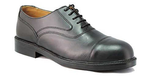 To Work For Oxford S3 - zapatos ejecutivos de seguridad - talla 41 - negro