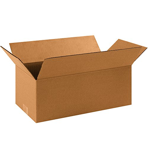 [Partners Brand P1686 Long Corrugated Boxes, 16