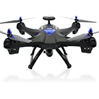 Owill Global Drone X183 5.8GHz 6-Axis Gyro WiFi FPV 1080P Camera Double GPS Follow Me Brushless Quadcopter (Black)
