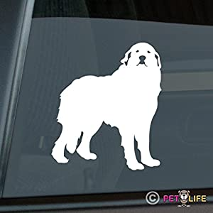 Mister Petlife Great Pyrenees Sticker Vinyl Auto Window pyr 2