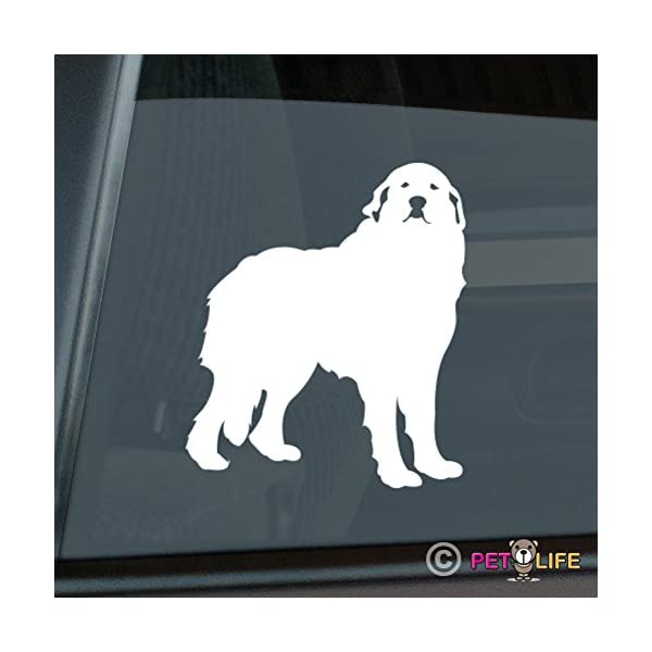 Mister Petlife Great Pyrenees Sticker Vinyl Auto Window pyr 1