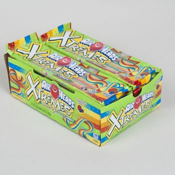 Set of () Deliciously Fruity EXTREME Airheads Belts 3oz Bags! All the Chewy Deliciousness of Airheads in Strips or Bites!