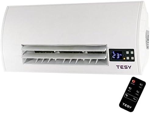 Tesy Chauffage Soufflant De Salle De Bain 2000w Radiateur Ceramique Avec Telecommande Amazon Fr Cuisine Maison