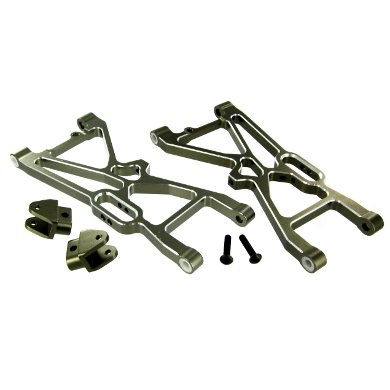 Redcat Racing L/R Aluminum Rear Lower Suspension Arms with Suspension Tab (2 - Tab Suspension