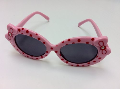 Christmas Gift Kids Sunglasses - Hello Kitty Style in Pink - Sale Christmas Sunglasses