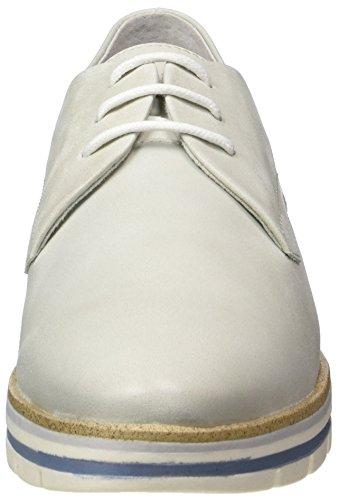 Cordones para Quartz 296 Oxford Antic Zapatos 23209 de Premio Mujer Marco Tozzi Gris F40q7gRX