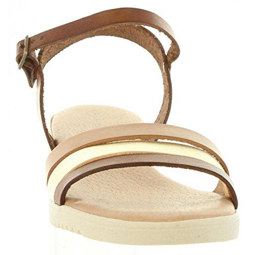 CUMBIA Sandalen für Damen 20578 Vachetta C NUEZ
