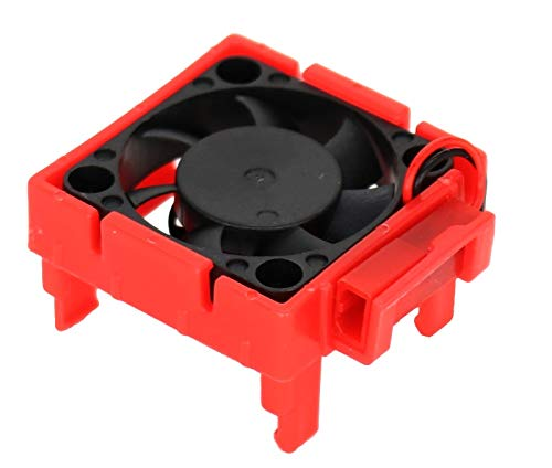 (Powerhobby Cooling Fan for Traxxas Velineon ESC VXL-3 / VXL3 Red FITS : 4-Tec 2.0 Bandit Rally Rustler VXL Slash 2wd / 4x4 Stampede 4x4 VXL)