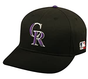 Colorado Rockies ADULT Major League Baseball Officially Licensed MLB Adjustable Baseball Replica Cap/Hat
