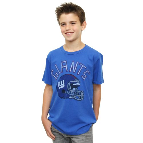 NFL New York Giants Youth Kickoff Crew T-Shirt, , X-Large, Liberty