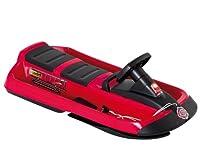 Hamax Rodelschlitten Snow Fire Doppelsitzer, Rot/Schwarz, 505520