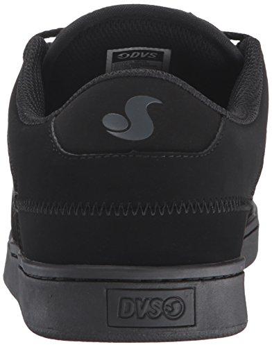 DVS Shoes Quentin, Zapatillas de Skateboarding para Hombre Negro - Schwarz (BLK/BLK 010)