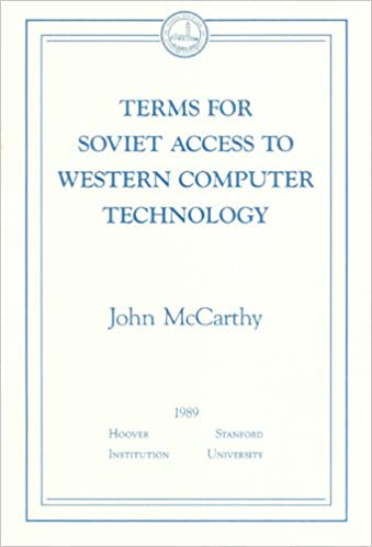 Terms For Soviet Access To Western Computer Technology Essays In  Terms For Soviet Access To Western Computer Technology Essays In Public  Policy  No   Business Development Books  Amazoncom