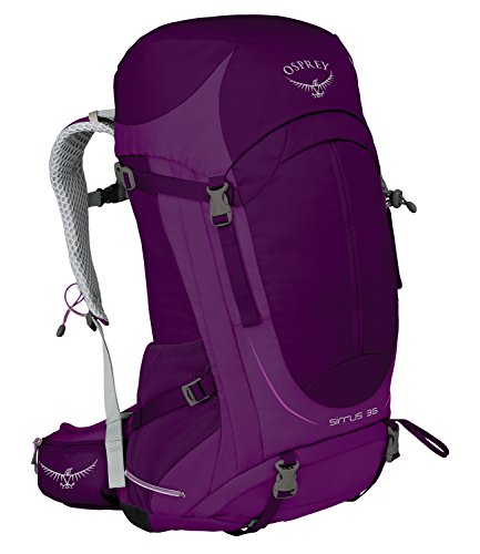 Osprey Packs Women's Sirrus 36 Backpack, Ruska Purple, Small/Medium