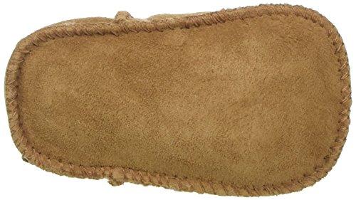 Ugg Australia Erin - Zapatos de bebé de lana bebé unisex Braun (Chestnut)