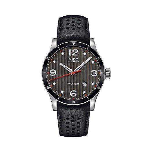 mido-multifort-gent-m0254071606100-grey-black-leather-analog-automatic-mens-watch