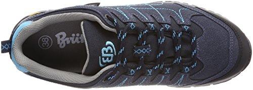 Dames Bruetting Mount Shasta Bas Trekking Et Chaussures De Randonnée Bas Bleu (bleu Marine / Turquoise)