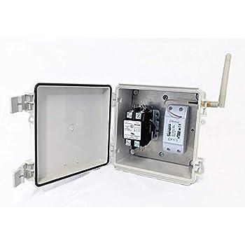 Smart Wi Fi Power Switch Box 2 Pole 50a Resistive