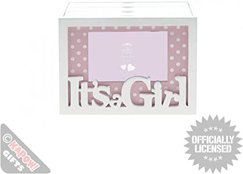 Bebé marco de fotos Funky caja para almacenar fotografías para Cool caja archivadora para corporativo o de bebé: Amazon.es: Hogar