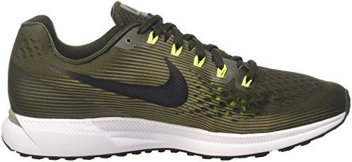 34 Pegasus Nike Dark Black Sequoia Uomo Multicolore Running 302 Air Zoom Scarpe n6UtqU1px