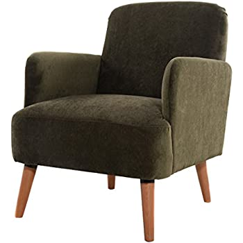 Superb Giantex Modern Big Seat Upholstered Accent Occasional Chair Bedroom W/Pine  Legu0026Armrest (Green)