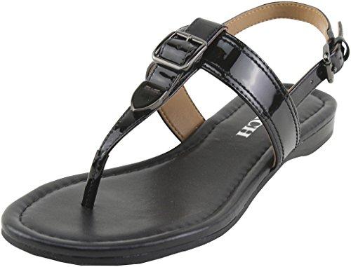 coach-womens-cassidy-metallic-tumbled-black-sandals-6-b-us-women