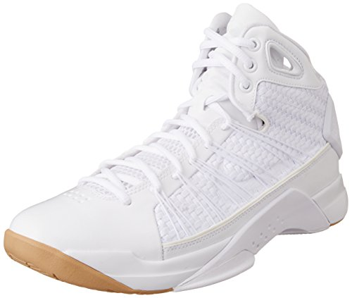 Nike Mens Hyperdunk Lux White/Gum Light Brown/White 818137-100 (11 M US) by NIKE