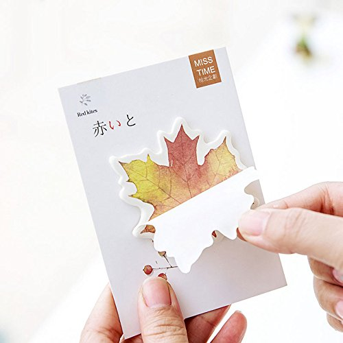 4 pcs/lot Gift of nature maple leaf memo pad paper stickys notes notepad kawaii stationery papeleria school supplies