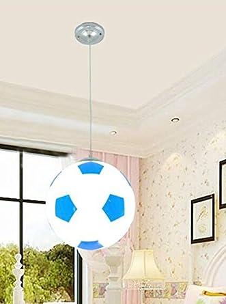 Lámpara de LED girl Boy Basket fútbol lámpara de techo ...
