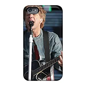 Shockproof Hard Cell-phone Case For Iphone 6 (aMh19391rnTX) Unique Design Beautiful Bon Jovi Band Series