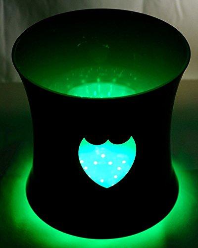 Dom Pérignon Luminous LED Champagne Ice Bucket Cooler Standard 0.75l or 1.5 (Magnum) Size - Moet Dom Perignon