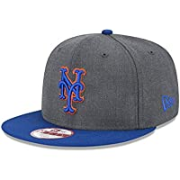 fan products of New Era MLB Heather Graphite 9FIFTY Snapback Cap