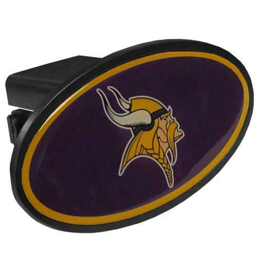 Siskiyou NFL Minnesota Vikings Plastic Logo Hitch Cover, Class III