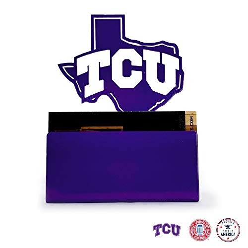 Gameday Ironworks TCU Horned Frogs Steel Business Card ()